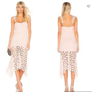 Karina Grimaldi - Irma lace floral midi dress